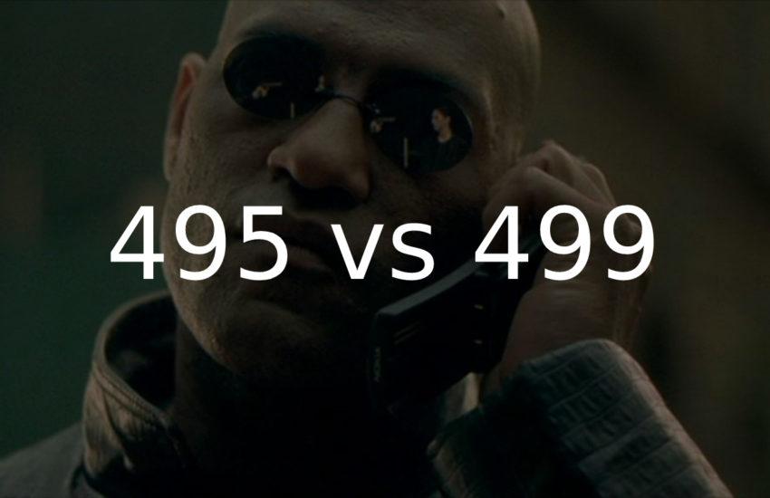 495 или 499